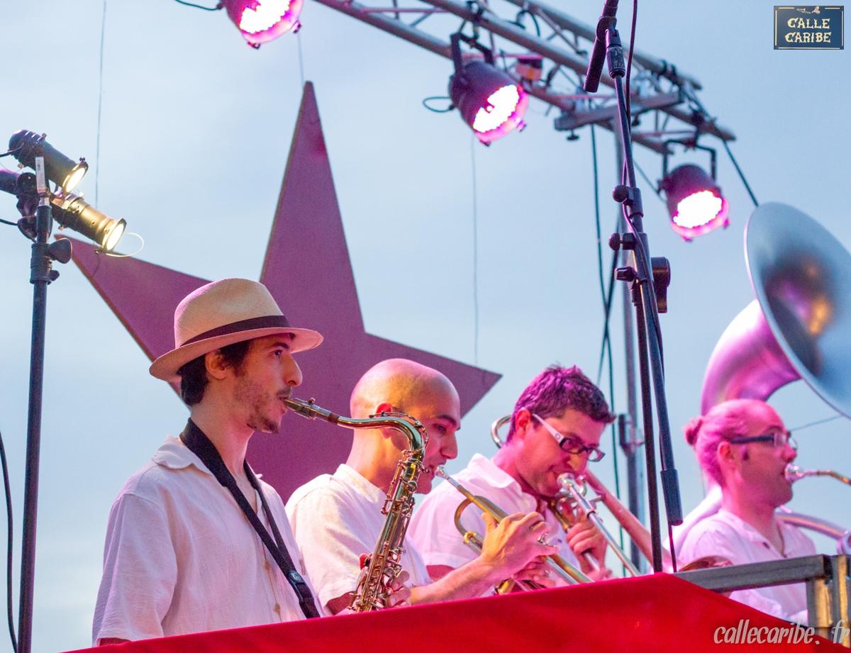 Concert Calle Caribe au Festazik 2014